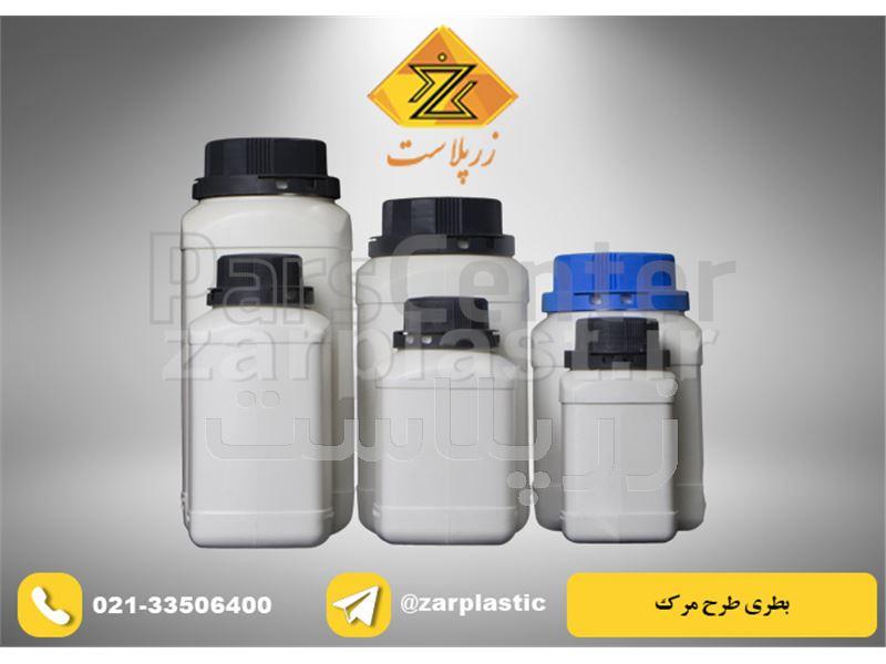 بطری پلاستیکی طرح مرک 1200