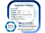 Mono Layer Graphene (+99%, Diameter 2-10 μm, Thickness 1-2 nm)