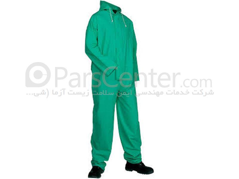 لباس ایمنی مقاوم مواد شیمیایی اسید و حلال های نفتی