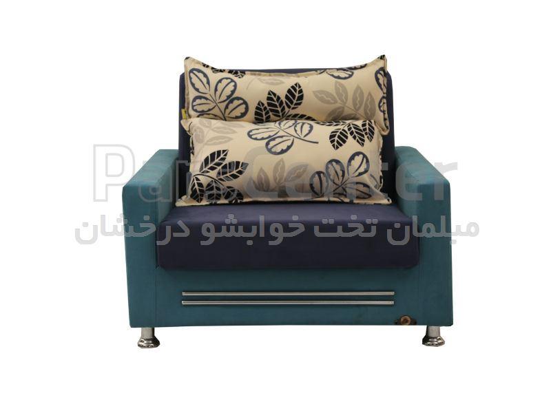 مبل تخت خوابشو یکنفره عرض 70 ادسا odesa
