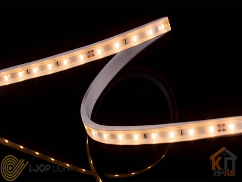 ریسه SMD LED با تراشه ۲۸۳۵ تراکم ۶۰ لوپ لایت