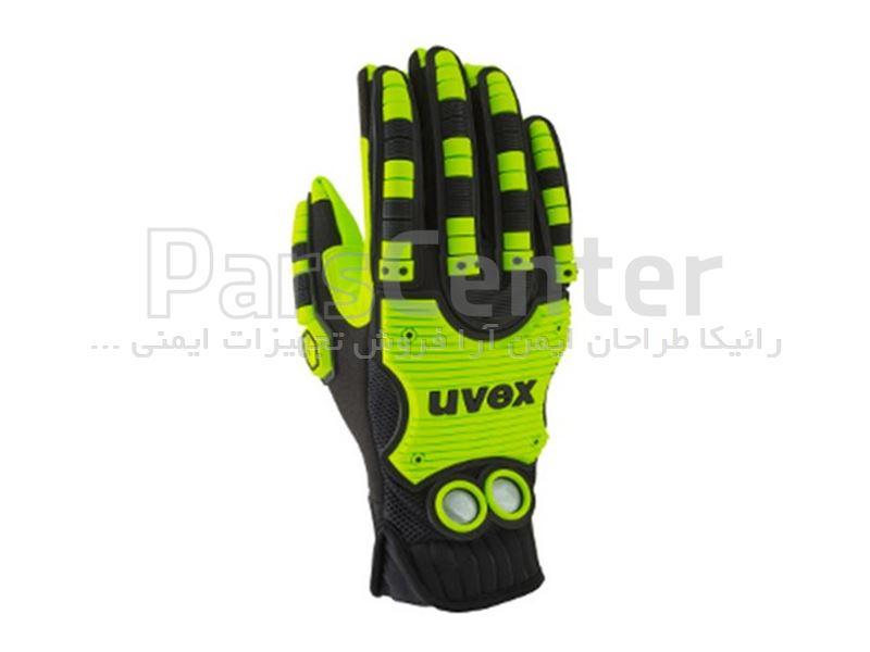 دستکش ایمنی ضد ضربه Uvex مدل Impact 100