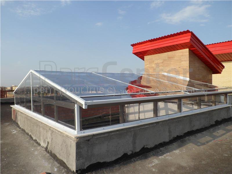 Building skylight_ نورگیر ساختمان دانشگاه پزشکی محقق اردبیلی