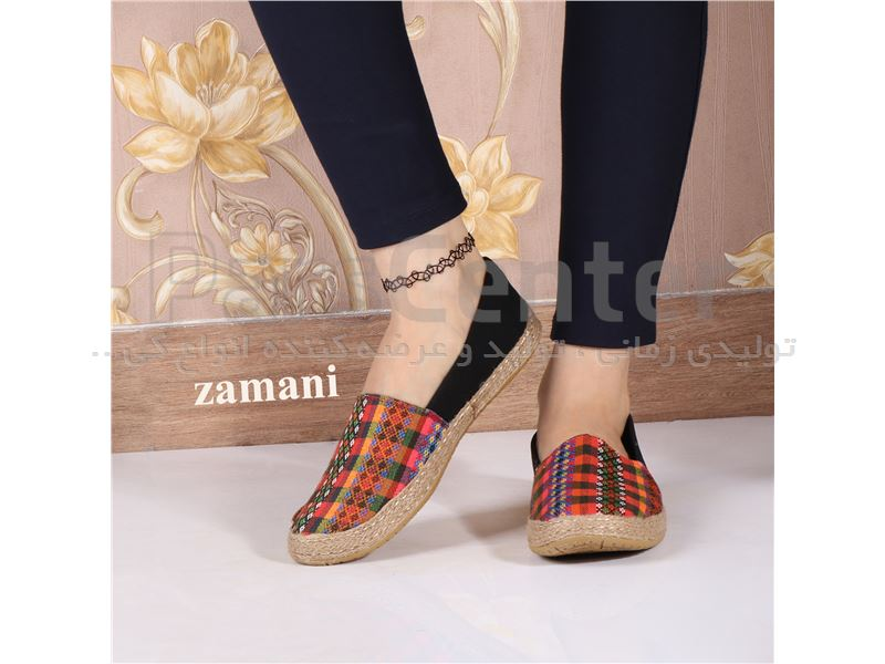 کفش زنانه پارچه ای کد 420