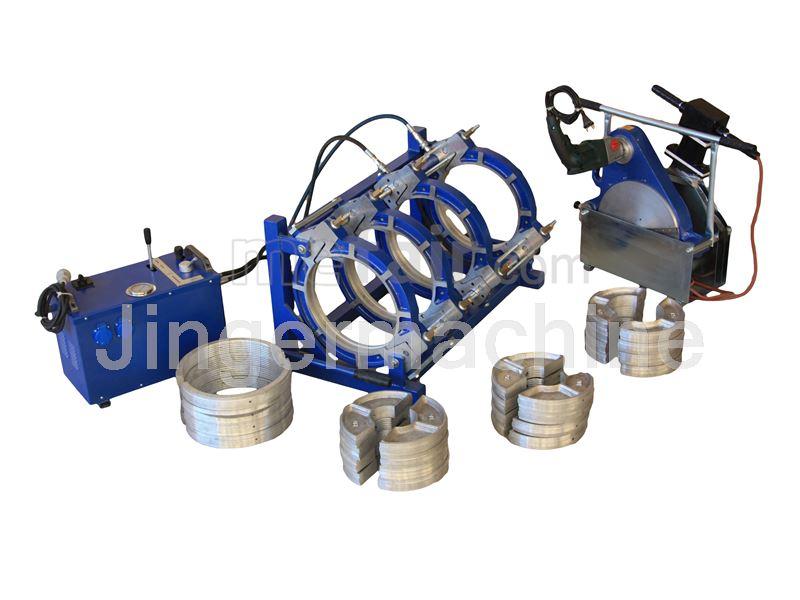 Semi-hydraulic pe welding machine 200
