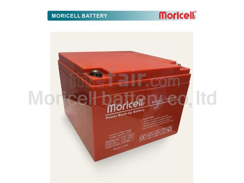Moricell battery 12v 22Ah