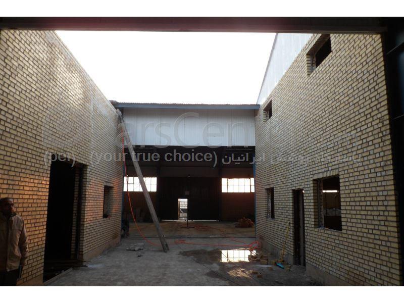 Building skylight_ نورگیر کارخانه یوسفی - شهرک صنعتی شکوهیه قم