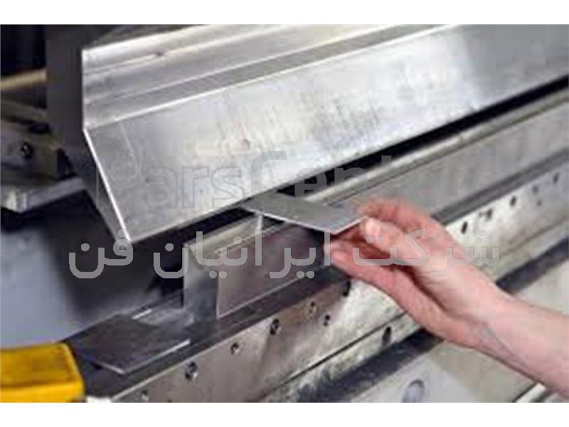 خمکاری ورق های صنعتی