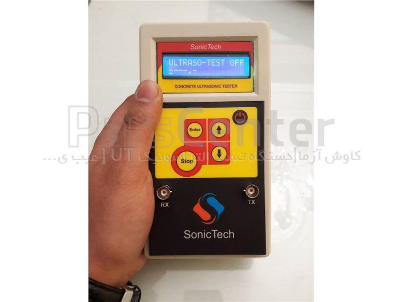 دستگاه تست التراسونیک بتن ساخت Sonic Tech تایوان