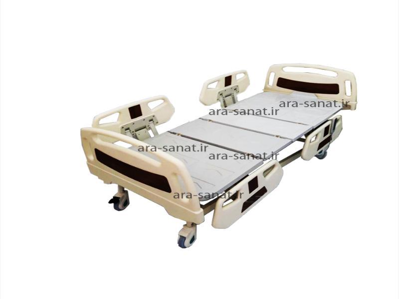 تخت برقی بیمار و سالمندان چهار شکن مدل پرشین | خانگی