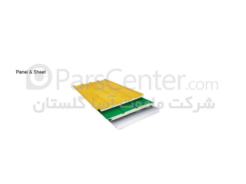 فروش ساندویچ پانل -ورق شیروانی -پشم شیشه -پشم سنگ در مازندران ...