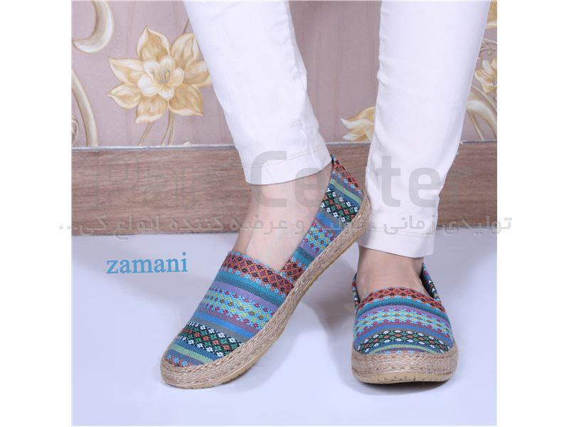 کفش زنانه پارچه ای کد 423