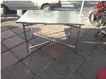 میز کار فلزی با پایه تاشو