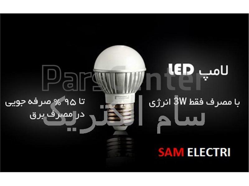 لامپ LED حبابی سرپیچ معمولی E27