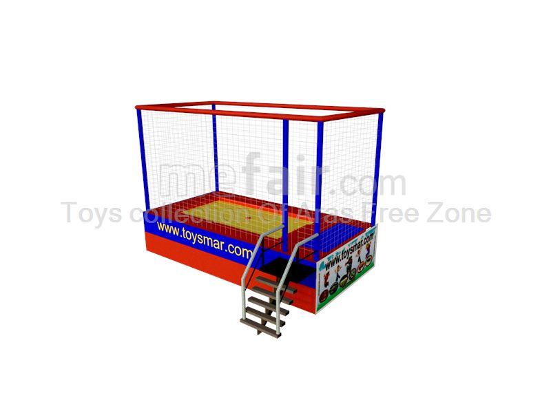 1 bed  Junior outdoor trampoline
