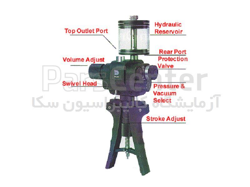DRUCK Hydraulic Hand pump tester هندپمپ دستی دراک