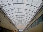 پوشش سقف با ورق پلی کربنات (پروژه کارخانه دلپذیر)