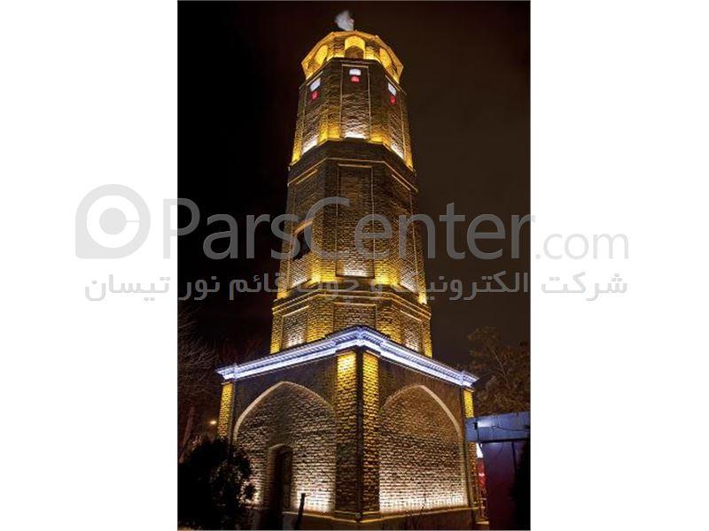 فروش چراغ و پرژکتور های ال ای دی(LED)واجرای نورپردازی نما در ایران