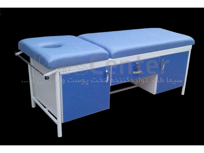 تخت معاینه ساده کمد شکن دار مدل B41