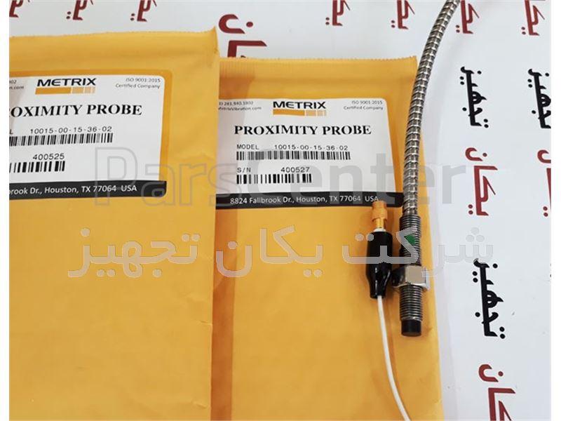 فروش و تامین پراب متریکس جایگزین سری 3000 بنتلی نوادا Metrix Proximity Probe 10015-00-15-36-02