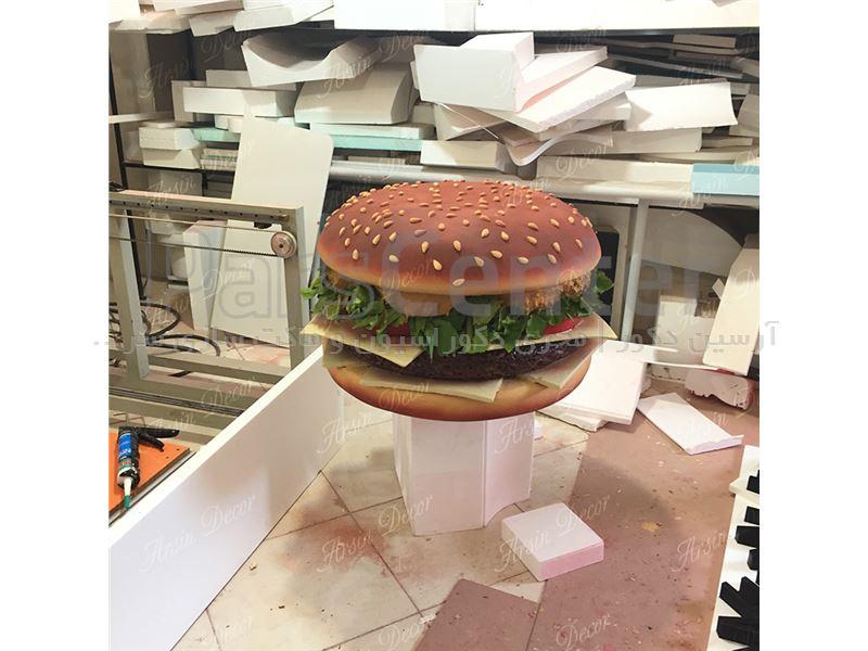 ماکت تبلیغاتی همبرگر
