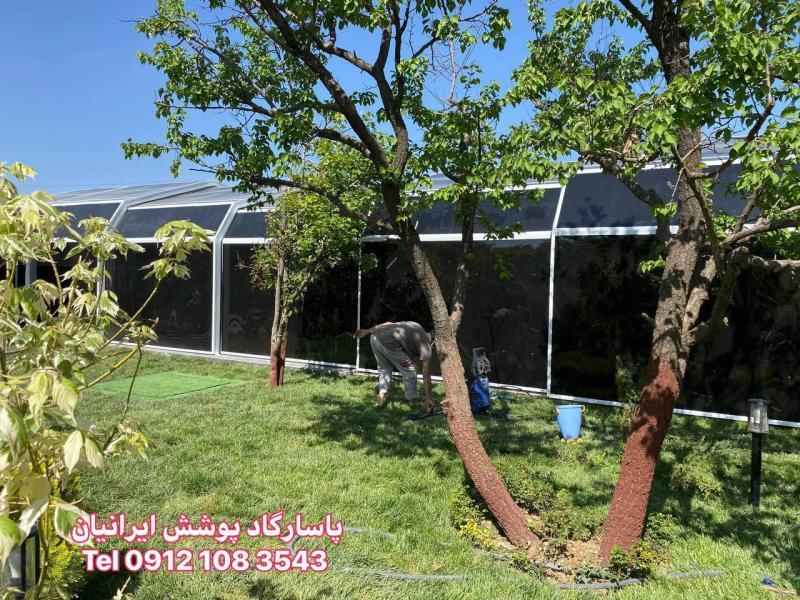 سقف استخر شناء - دماوند - آبسرد