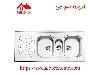 سینک ظرفشویی روکار کد 530 استیل البرز