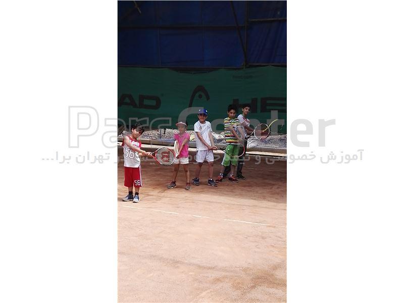 آموزش گروهی  تنیس در تهران برای تمامی سنین
