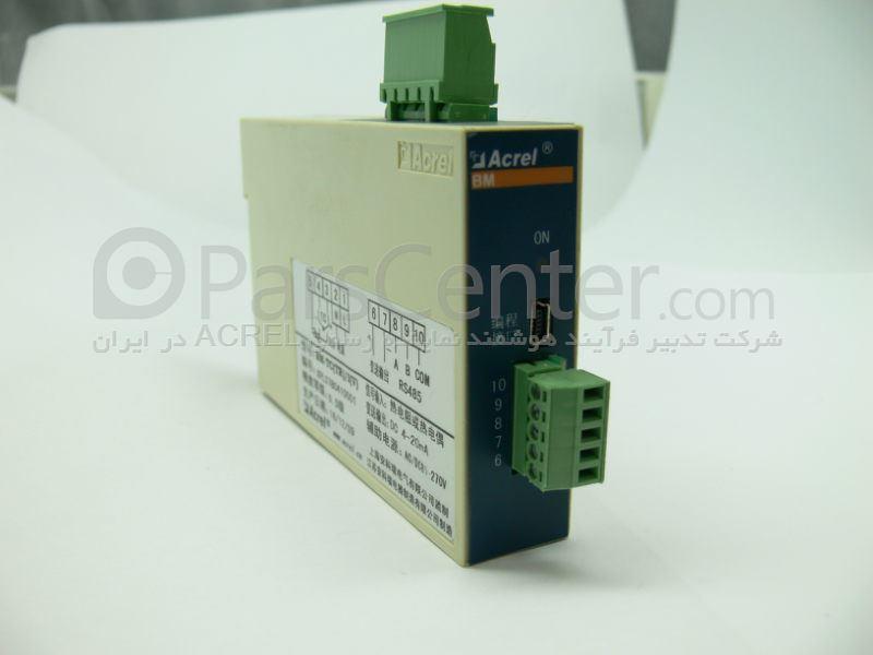 ترانسمیتر دما مبدل انواع ترموکوپل و pt100 به ولتاژ مدل BM-TC/V