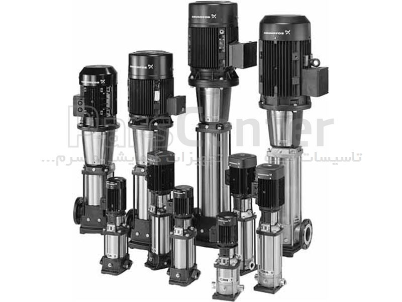 پمپ آب عمودی طبقاتی گرانفوس GRUNDFOS مدل CR 5-20