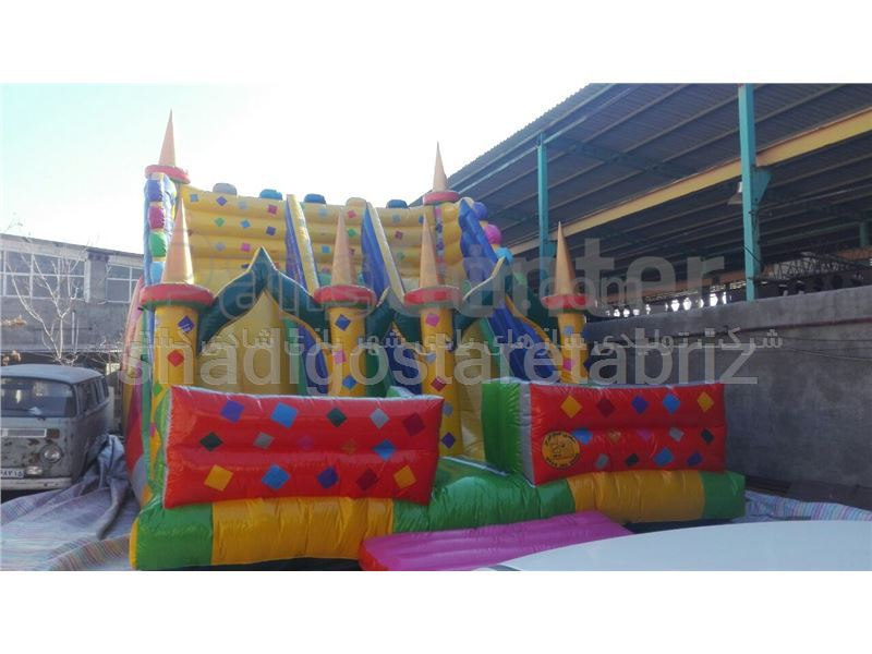 Inflatable play equipment code 8