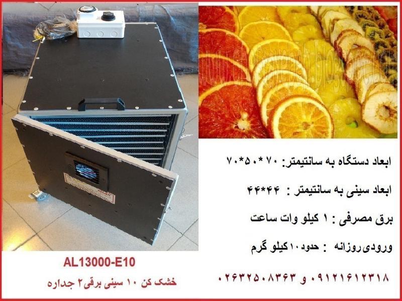 دستگاه خشک کن میوه 10 سینی AL13000-E10