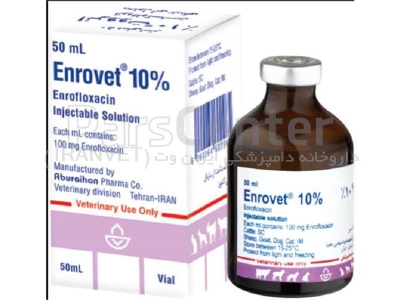 انرووت 10%(انروفلوکساسین)