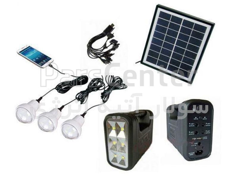 پکیج پرتابل خورشیدی با قابلیت پخش آهنگK-T R 004 D