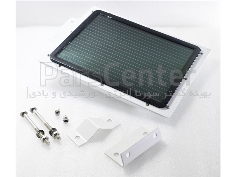 چراغ روشنایی هوشمند پارکی (خیابانی) خورشیدی 5 وات مجهز به سنسور