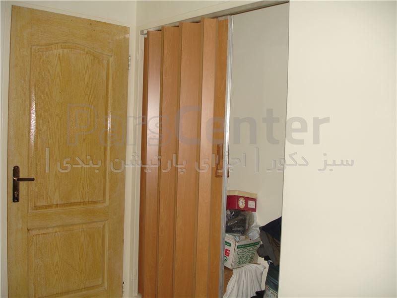 درب ریرلی چوبی mdf و pvc
