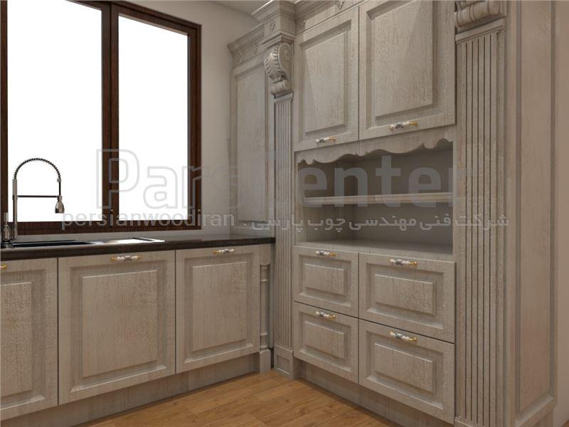 کابینت اشپزخانه چوبی pw 06