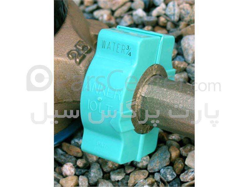 پلمپ مهره ماسوره  2/1 اینچ– استاندارد کنتور آب