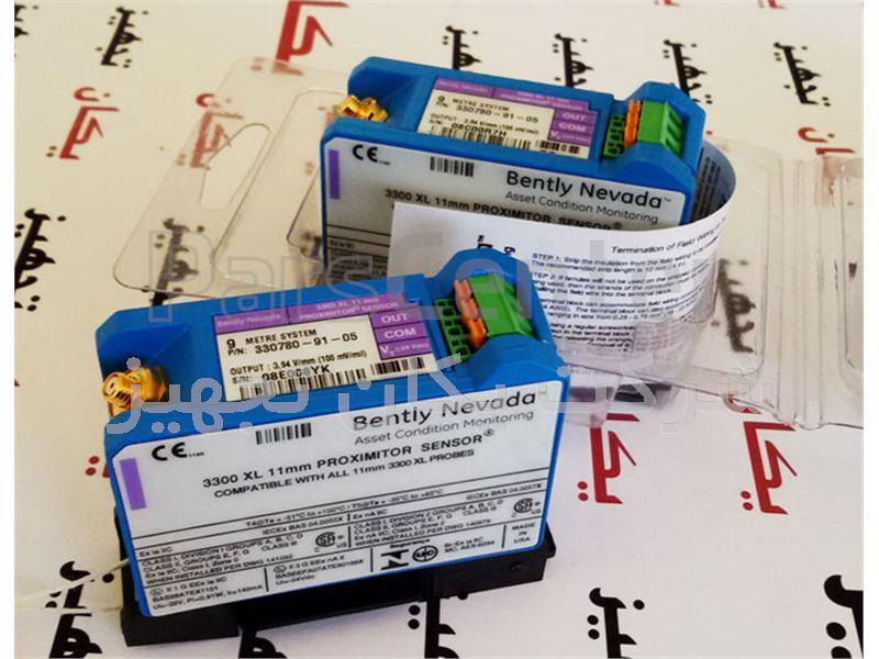 فروش و تامین سنسور مجاورتی یا پراکسیمیتی 9 متری بنتلی نوادا 05-91-330780 Bently Nevada Proximity Sensor 11mm