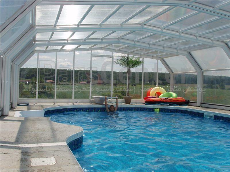 پوشش سقف استخر متحرک کد MS 03