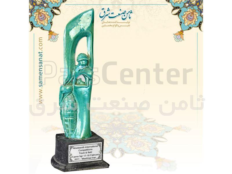 تندیس سه بعدی شهید حسین فهمیده ،نمادی از جنگ ، شهادت ،انقلاب و جمهوری اسلامی ایران،ابعاد8*40*10