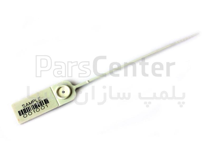 پلمپ پلاستیکی با قفل فلزی و تسمه پهن استاندارد سردخانه ها