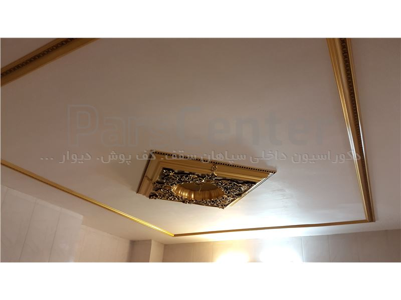 گل سقفی مربع 90×90 مدل تارا کد606 (سپاهان سقف)