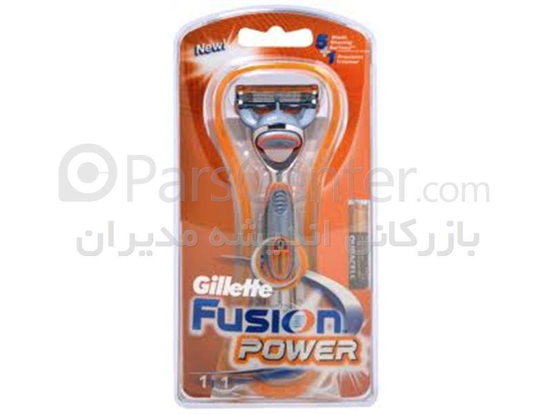 دسته و یدک فیوژن پاور ژیلت - Gillette