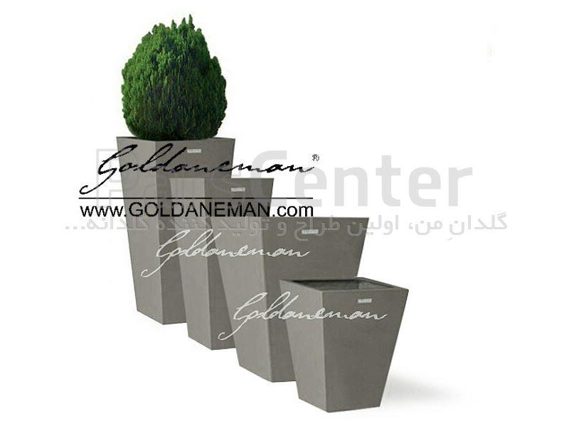 گلدان هرمی مدرن/ کد 2-EP3