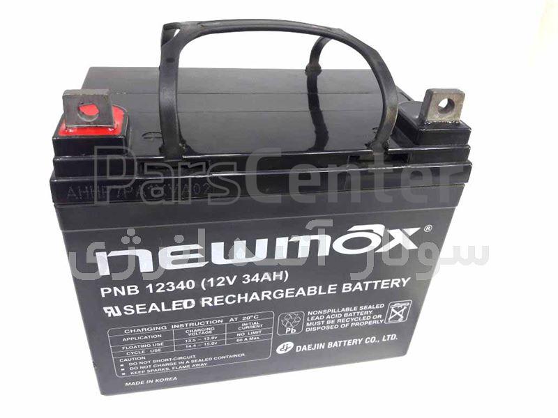 باتری سیلد اسید نیومکس 70 آمپرساعت
