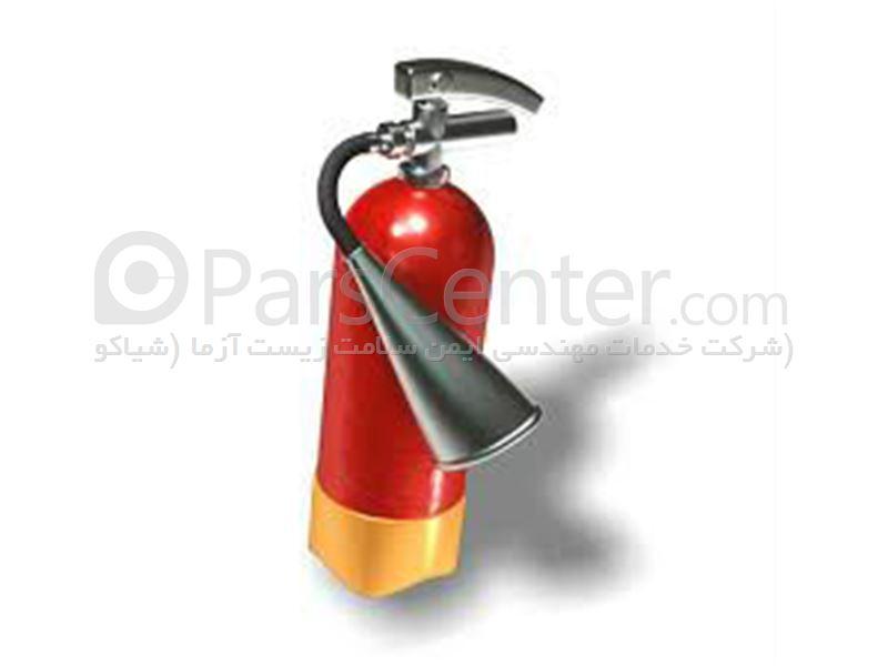 کپسول آتش نشانی Co2 چهار کیلویی