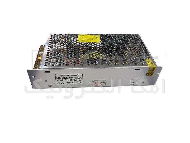 آداپتور سوئیچینگ صنعتی 12V 10A