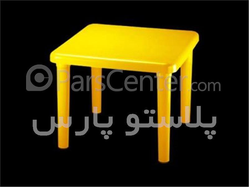 میز فایبرگلاس کودک 4 نفره 60*60 کد 101828