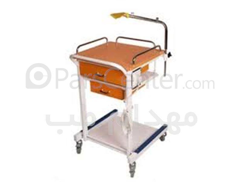 ترالی حمل دستگاه نوار قلب - ECG